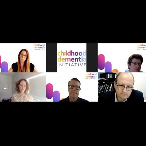 Panel Event: Childhood Dementia Webinar